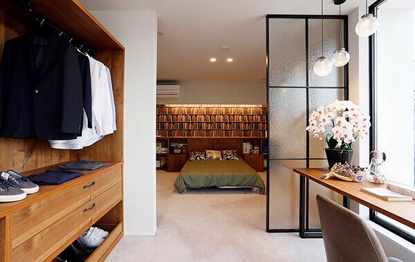 オシャレで実用的な寝室スタイル