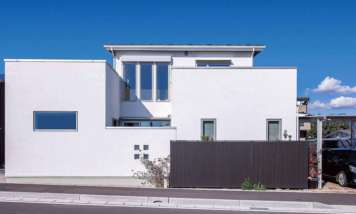 デザイン性と快適さに富むこだわり抜いた心地よい家