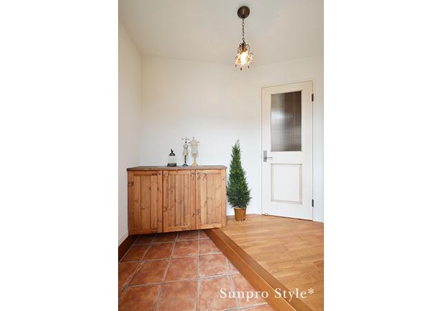 南欧×アンティークの家