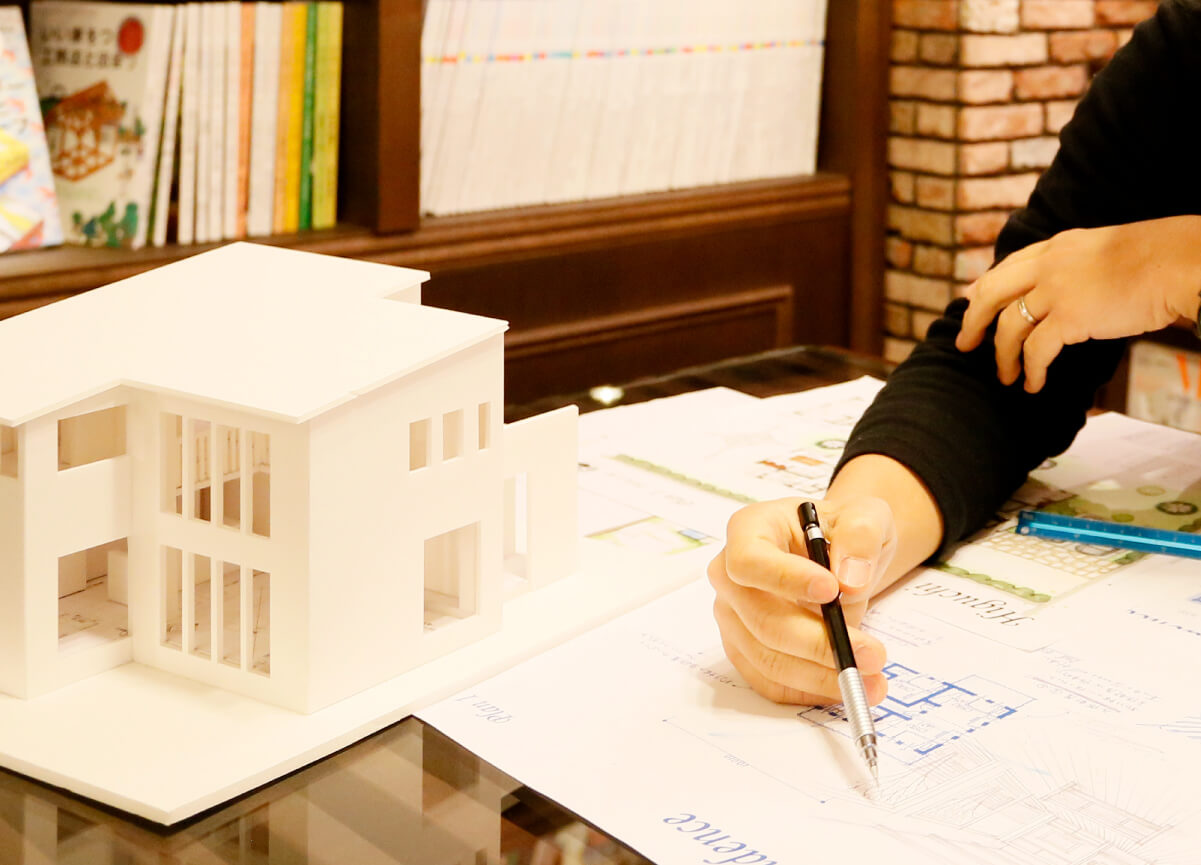 新築・リノベーションをお考えの方向け 無料プランニング