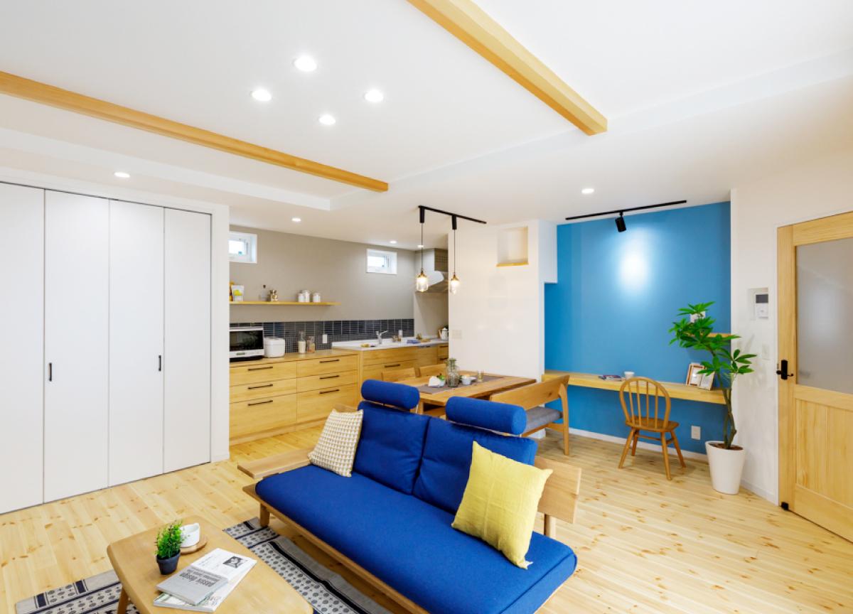 リノベーションオープンハウス「暮らしやすさとプライバシーに配慮した家」