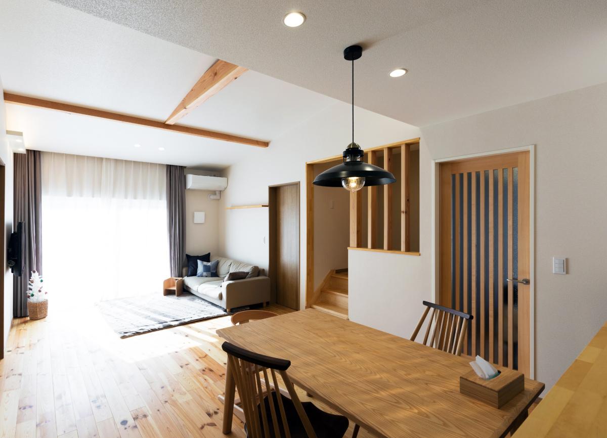 リノベーション オープンハウス「減築リノベーションで今どきの新しい平屋へ」