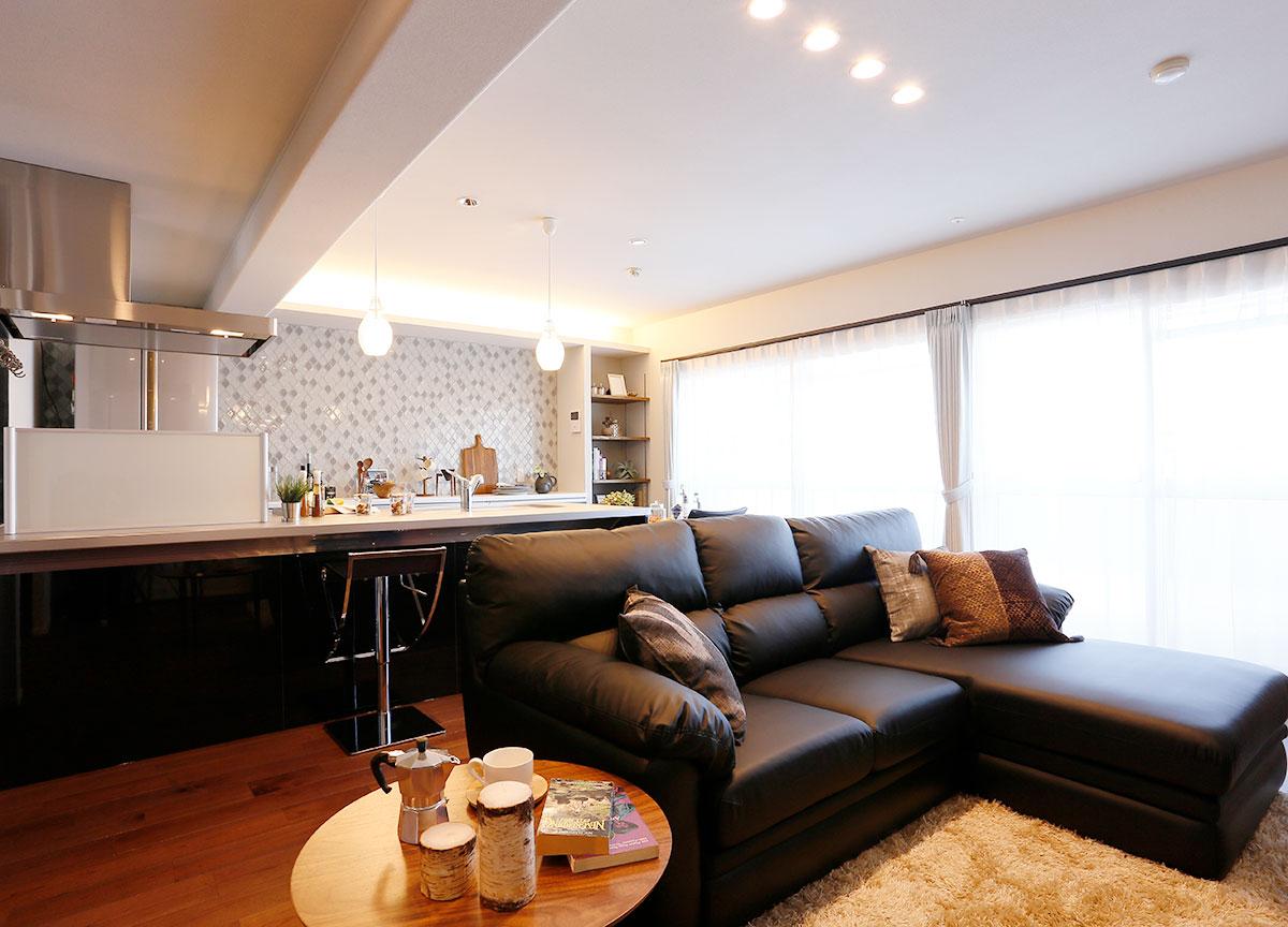 リノベーション オープンハウス「憧れのオープンキッチンへ!1階丸ごとリフレッシュリフォーム」