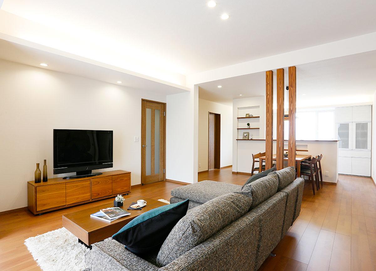 リノベーションオープンハウス「平屋部分を全面リフォーム シンプルで使いやすい住まいへ」