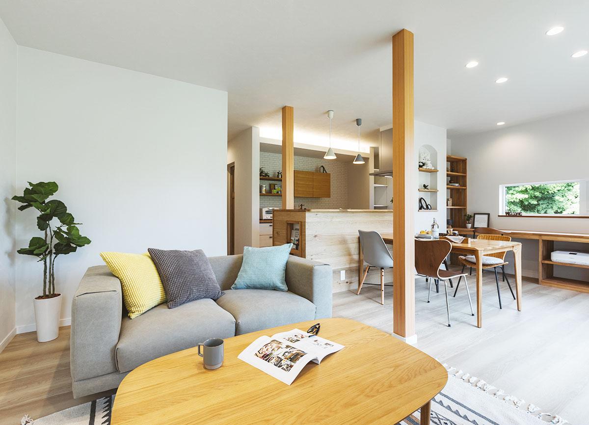 リノベーションオープンハウス「大人なシャビーナチュラル空間で夫婦時間も自分時間も愉しめる家」