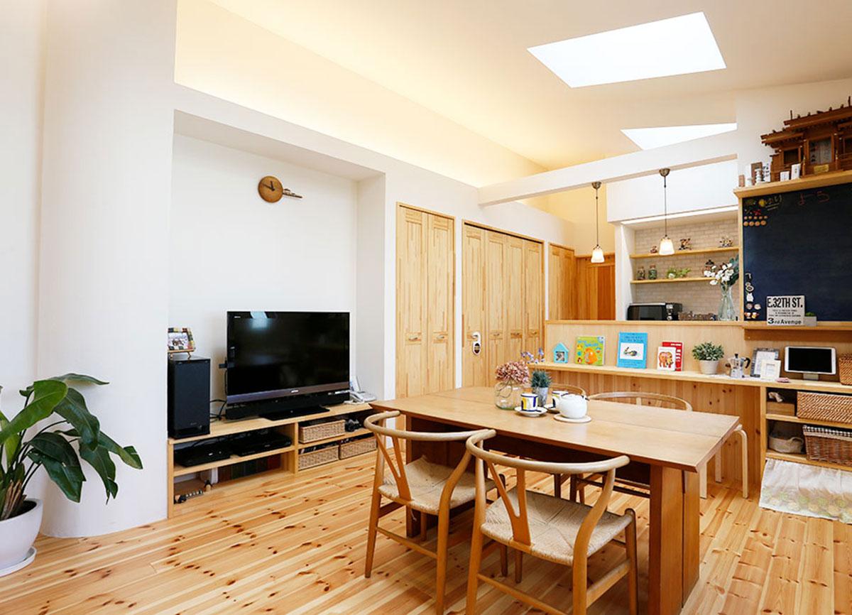 リノベーションオープンハウス「狭小住宅をフルリノベーション 家全体に光が通る明るい家へ」