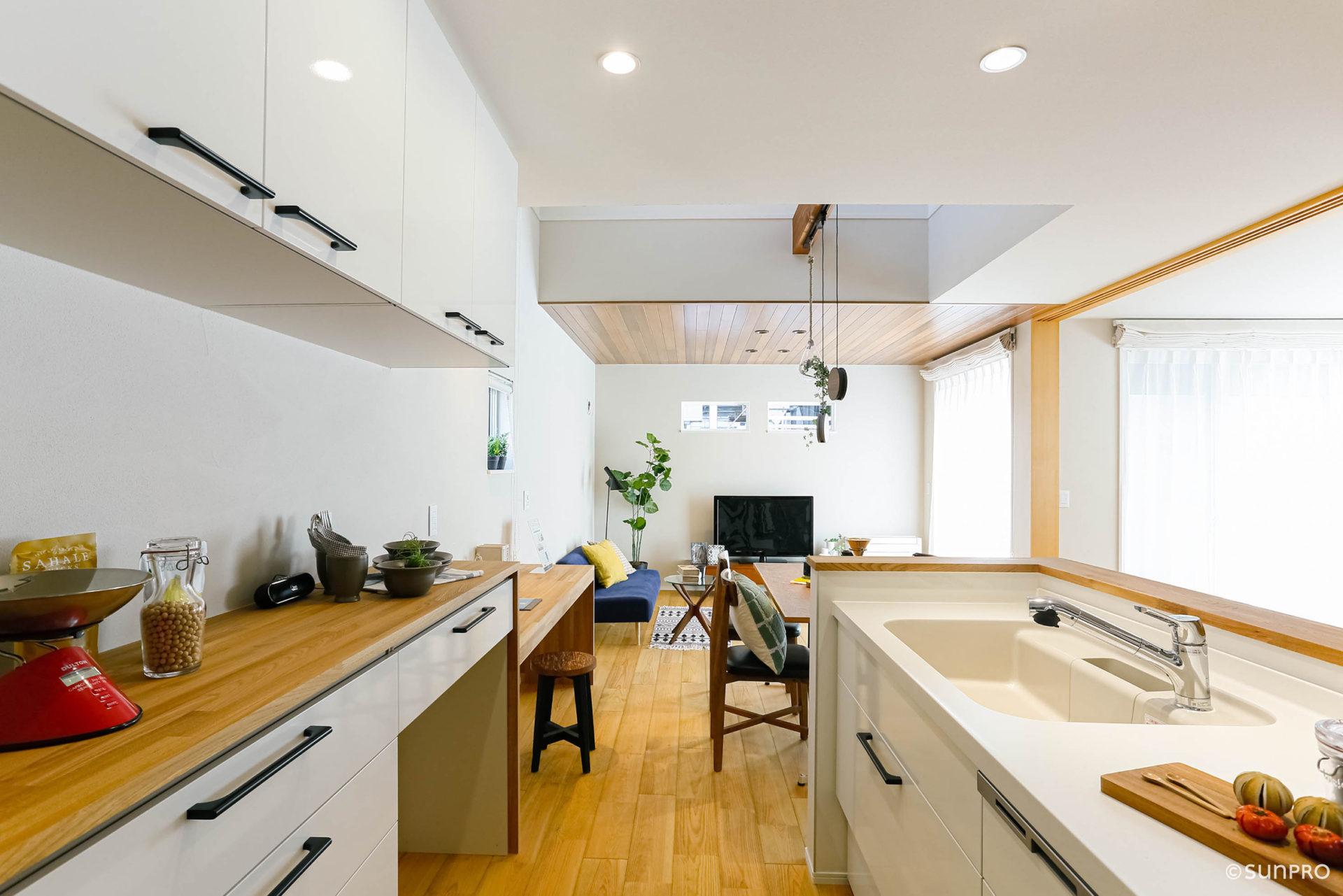 敷地面積39坪に建つモダンな家